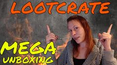 LOOTCRATE MEGA UNBOXING | Speed
