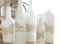 Ideas para decorar y regalar ;botellas recicladas   Holamama blog