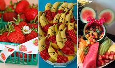 Frutas em festa infantil - ideias criativas