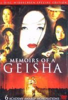 Memoirs of a Geisha 2005 Ken Watanabe, Michelle Yeoh