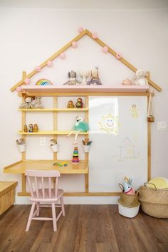 Study Room Decor, Baby Room Decor, Bedroom Decor, Playroom Design, Kids Room Design, Baby Bedroom, Girls Bedroom, Toddler Rooms, Toy Rooms