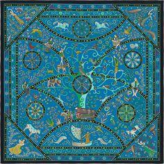 Carrés et accessoires en soie. Carré HermesCachemirePeupleFoulardsAutresTenues  ... 1e72a3b053c