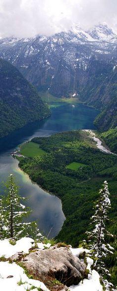 Travel Inspiration for Germany - Lake Königssee, Bavaria, Germany