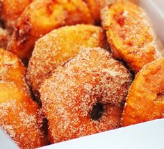 This Italian take on an apple fritter, made with whole apple rings, is a traditional treat in the Northern Italian retreat of Lake Como.