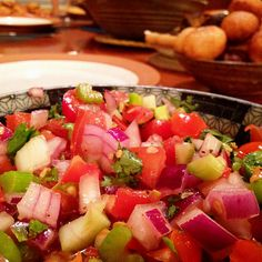 Nyama Choma with Kachumbari and Ugali Kenyan Recipes, African Recipes, Ethnic Recipes, La Trattoria, Beef Short Ribs, Food Staples, Fresh Vegetables, The Fresh, Fruit Salad