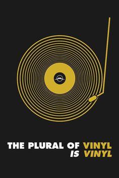 the plurality of vinyl