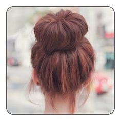 i wish my bun could look like this ☹