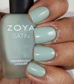 ZOYA Satins 2015 Transitional collection : Sage