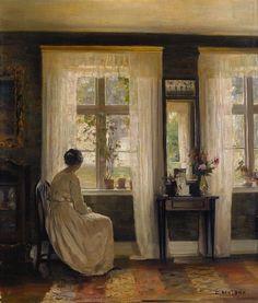 Danish painter Carl Vilhelm Holsøe - Google keresés