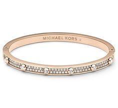 Michael Kors MKJ3269 Rose Gold Crysta...