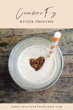 This quick cinnamon fig morning smoothie is perfect even on a cold winter morning. Healthy Breakfast Recipes, Healthy Drinks, Fresh Herbs, Fig, Delish, Cinnamon, Drink Recipes, Winter, Smoothie