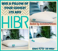 Pillows are a hot item in most houses. For us they seem to go missing all the time! Check out the new HIBR pillow, it's pretty amazing.