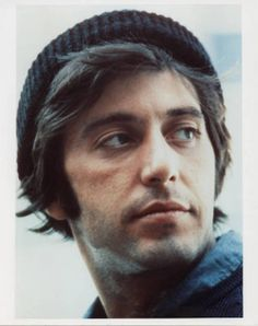 Pacino...he's so handsome in this photo.....such a great actor...
