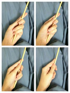I took these for Daikon, but I thought other people might enjoy a random wand/stick holding hand ref as well.