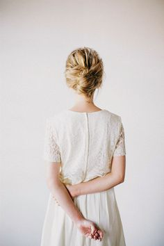 Simple lace dress | Ciara Richardson
