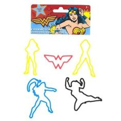 Wonder Woman Silly Bandz
