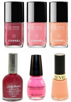 :) Nail Polish Dupes for Chanel April, May and June