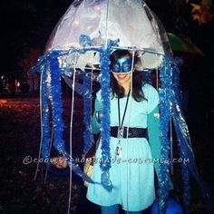 Coolest Homemade Masquerade Jellyfish Halloween Costume