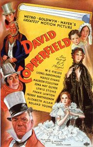 """David Copperfield - I loved the b/w film that opens with David at an inn writing at a desk, a window behind him overlooking a raging sea, a fire lighting the room and a ship captain's bed. A male voice says, """"Whether I shall turn out to be the hero of my own life, or whether that station will be held by anybody else, these pages must show."""" The scene has stuck with me."""