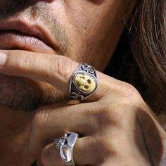 His rings