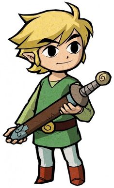 View an image titled 'Link Art' in our The Legend of Zelda: The Minish Cap art gallery featuring official character designs, concept art, and promo pictures. The Legend Of Zelda, Legend Of Zelda Costume, Pixel Art Link, Link Art, Link Zelda, Wind Waker, Lien Costume, Faber Castell Ambition, Cartoon Drawings
