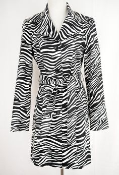 S Zebra Print Jacket Size 4 by S | ClosetDash