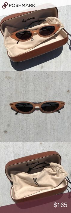 dd2c9f56e8 Illesteva Marianne sunglasses These are brand new - wore once at a wedding!  They are