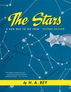Rey, H. A. The Stars. HMH Books, 2008. 160 p. (978-0547132792) Gr. 4+. A book filled with lots of scientific information about stars and constellations written by the author of the Curious George books.