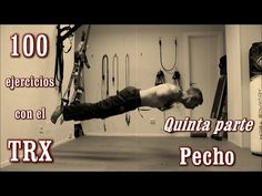 A complete video guide of TRX training! More than 100 exercises! The TRX is one of the most complete training tools. Chest Workouts, Fit Board Workouts, Gym Workouts, At Home Workouts, Suspension Workout, Suspension Training, Trx Suspension, Workout Memes, Workout Videos
