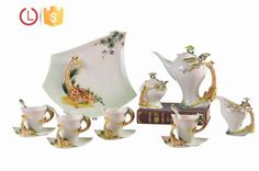 Porcelain enamel 16pcs graceful giraffe design Coffee tea set for home, View dinnerware set, YOU LAI FU Product Details from Shenzhen Youlaifu Household Company Limted on Alibaba.com
