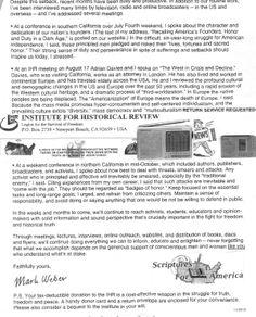 LSF/IHR/HRL Update from S.F.A. & M.W., Nov 2013