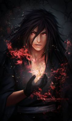 MADARA _flame by Zetsuai89 on DeviantArt