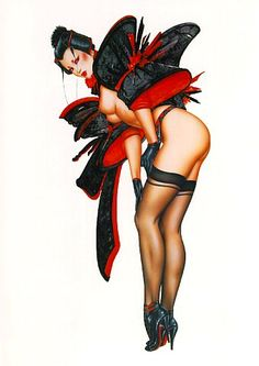 olivia pin up girls | Olivia de Berardinis pin-up artist