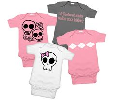 Pink & Gray Punk Girls 4 One Piece Gift Set