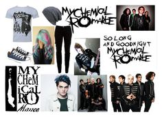 """""""//Teenagers scare the living sh!t out of me// MCR teenagers"""" by green-eyed-survivor ❤ liked on Polyvore featuring art"""
