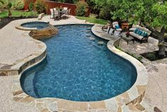 Having a pool sounds awesome especially if you are working with the best backyard pool landscaping ideas there is. How you design a proper backyard with a pool matters. Backyard Pool Landscaping, Backyard Pool Designs, Small Backyard Pools, Small Pools, Swimming Pools Backyard, Swimming Pool Designs, Lap Pools, Indoor Pools, Texas Hill Country