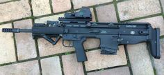 Bullpup SCAR 17 7.62x51 Rifle Find our speedloader now! http://www.amazon.com/shops/raeind