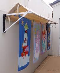 Afbeeldingsresultaat voor folding frame clothesline