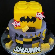 Lego Batman cake!