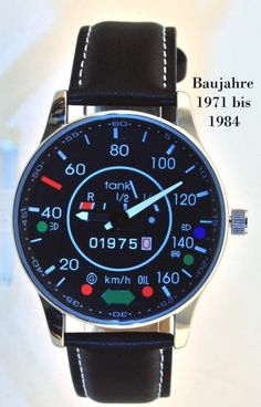 VW speedometer watch