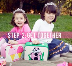 Picnics with Friends! #beatrixnewyork lunchboxes