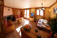 Living room Chalet des Neiges Hermine Val Thorens