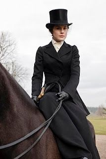 Equestrian style.