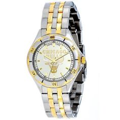 NBA Men's NBA-GEN-CHI General Manager Series Chicago Bulls Watch Game Time. $99.95. 23k Gold accents on stainless steel case and bracelet. Water resistant to 5 ATM. Citizen quartz movement. Water-resistant to 165 feet (50 M). Quartz movement