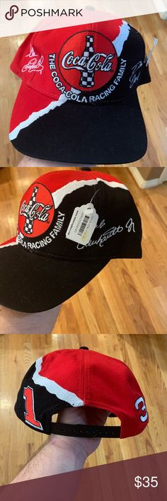 f62d926de20 Vintage Coca-Cola Dale Earnhardt Splash Hat Vintage 1998 Dale  Earndhart Dale Earnhardt Jr