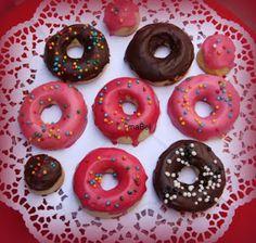 Pasteles de colores: Glaseado para donuts o rosquillas