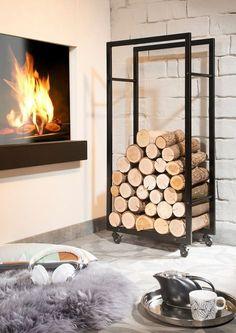 die besten 25 kaminholzregal metall ideen auf pinterest kaminholzregal metallregal schwarz. Black Bedroom Furniture Sets. Home Design Ideas