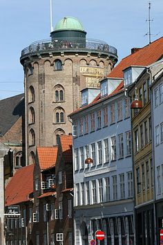 Rundetarn: The Round Tower, astronomy observatory built in 1642 in Copenhagen