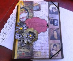 A Ladies Junk Journal by JandKKreations on Etsy