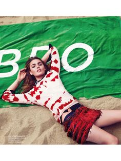 yohji yamamoto sweater -- cool and the glam: bambi northwood-blyth by ben morris for elle france 7th june 2013 | visual optimism; fashion editorials, shows, campaigns & more!